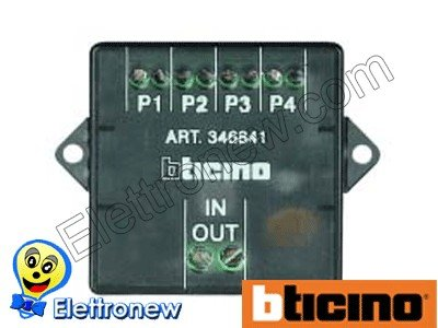 bticino lt terraneo sol distribution 2 fils 346841