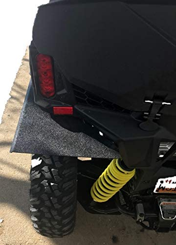"""Can-Am Maverick Trail Rear Fender Flares//Mud Flaps Maintains Your 50/"""" Clearance"""