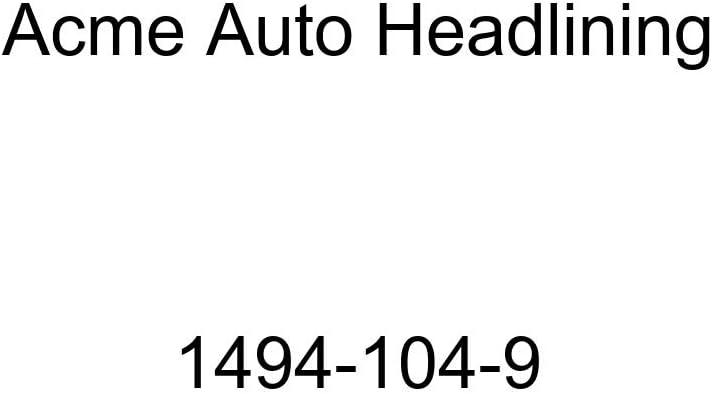 1960 Chevrolet Bel Air 4 Door Hardtop 6 Bows Acme Auto Headlining 1494-104-9 Dark Green Replacement Headliner