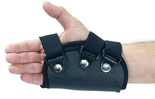 FREEDOM comfort Boxer Fracture Prefab Orthosis w/MP Extension, Medium Right by Freedom by Freedom
