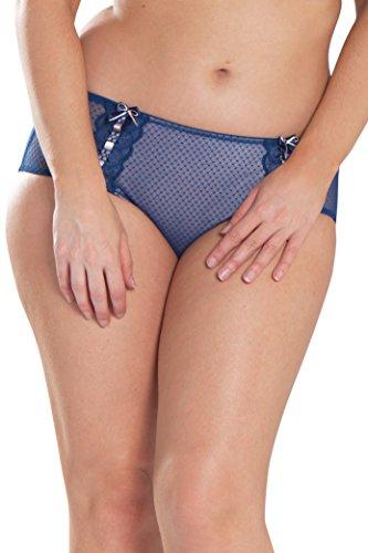Curvy Kate Women's Tease Suspender Short, Navy/Blush, 12