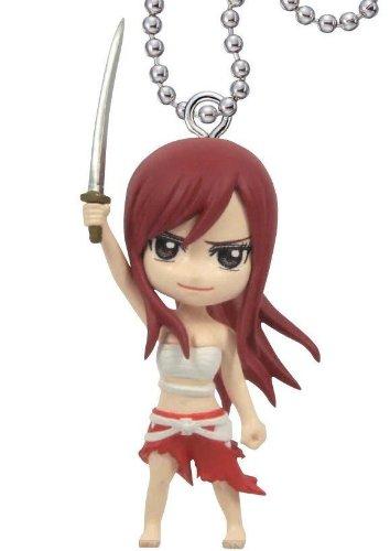 Fairy Tail Deformed Mini Swing Keychain 04 - Erza Scarlet