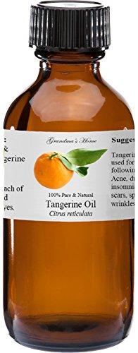 J&DY Inc. Tangerine Essential Oil - 2 fl oz -100% Pure and Natural - Therapeutic Grade - Grandma's Home price tips cheap