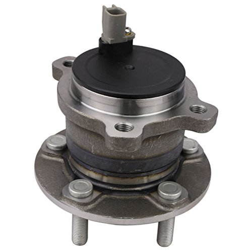 CRS NT590485 Wheel Bearing Hub Assembly (1 pack), Rear Driver (Left)/ Passenger (Right) Side, for 2013-2016 Ford C-MAX/Escape, 2015-2016 Lincoln MKC, FWD, w/ABS