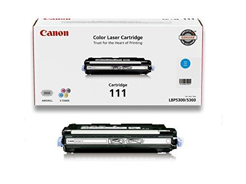 111 Cyan Toner Cartridge (Canon Original 111 Toner Cartridge - Cyan)