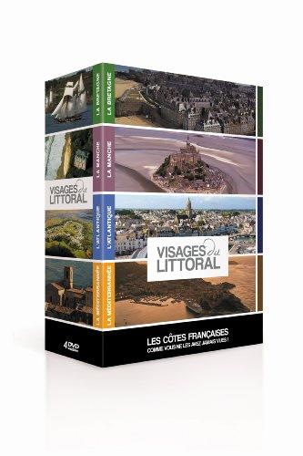 - Visages du littoral : Les côtes françaises comme vous ne les avez jamais vues ! - Coffret 4 DVD