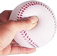 Quata 12Pack Baseball Foam Softball 9Inch Adult Youth Training Sporting Batting Ball for Game Pitching Catchin