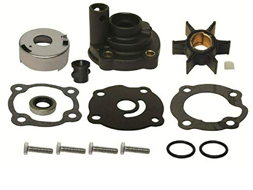 - GLM Water Pump Impeller Kit with Housing for Johnson Evinrude 20, 25, 28 Hp 1979-1984 Replaces 395270, 18-3383 Read Item Description for Applications