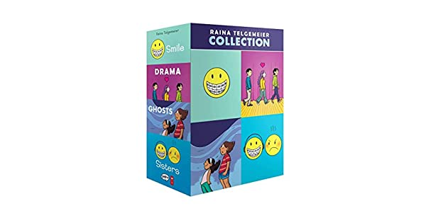 Amazon.com: The Raina Telgemeier Collection (A Box Set ...
