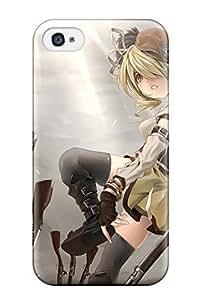 Fashion Protective Rifle Anime Puella Magi Madoka Magica Case Cover For Iphone 4/4s