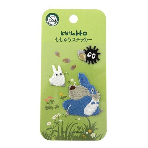 Ghibli My Neighbor Totoro embroidery sticker acorn Colo From Japan New - Totoro Costume Ideas