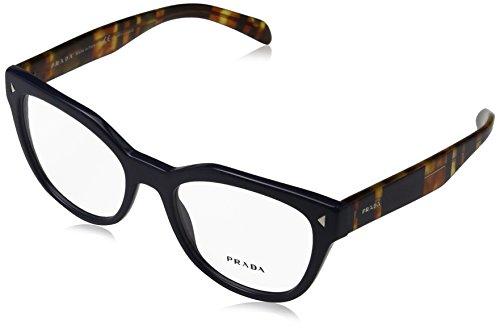 Prada PR21SV Eyeglass Frames TFM1O1-53 - Blue - Blue Glasses Prada