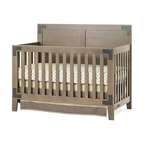Child Craft Lucas 4-in-1 Convertible Crib, Dusty Heather
