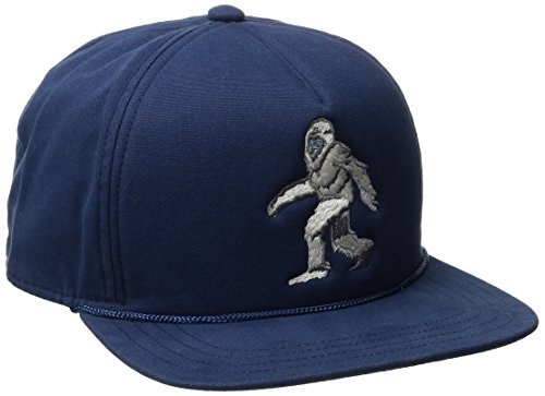 Coal Men's The Lore Hat Foam Front Adjustable Snapback Cap, Navy/Bigfoot, One - Hat Trucker Wolf