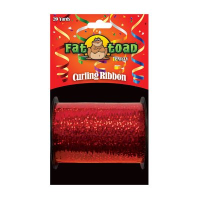 CURLING RIBBON RED SPARKLE 20YDS #34269, CASE OF 144 by DollarItemDirect