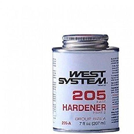 West System 205 Fast Hardener, .43 Pt .47 Lb (C-west Body)