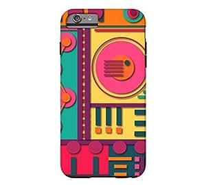 A11 iPhone 6 Plus Apple Orange Tough Phone Case - Design By Humans