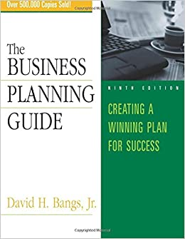 Business planning guide david h bangs pdf editor