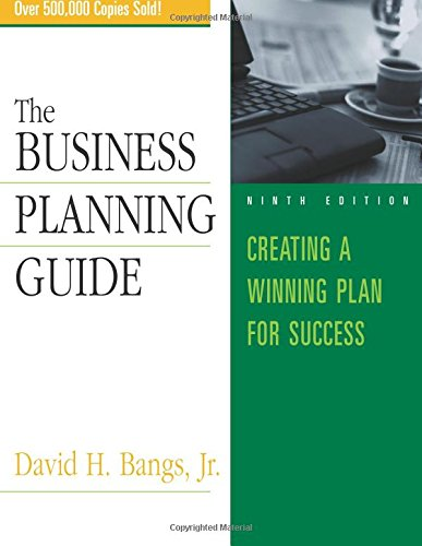 Business Planning Guide David Bangs product image