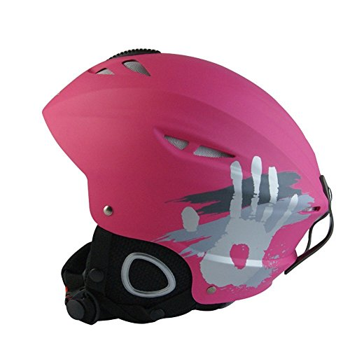 HiCool Unisex Adult Snow Sports Helmet, Large - Pink (Helmet Snow)