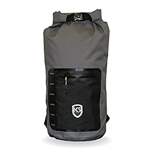 K3 Drifter Waterproof Dry Bag 20 Liter Backpack
