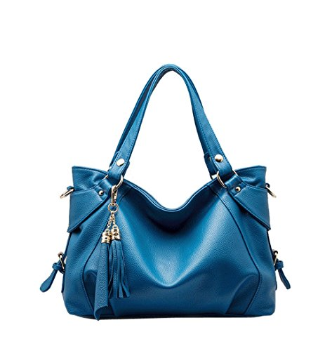 Hobo Bronze - Whoishe174; Women Retro Tassels Casual Hobo Style Classic Bronze PU Leather Shoulder Handbags