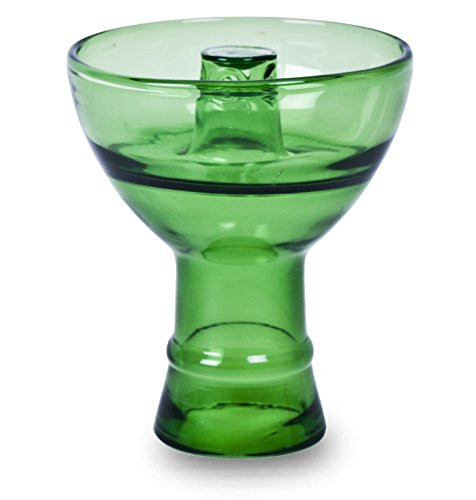 Sahara Smoke Pyrex Vortex Hookah Bowl - Green by Pyrex
