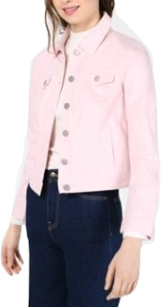 Maison Jules Denim Jacket Pink Size XX-Large