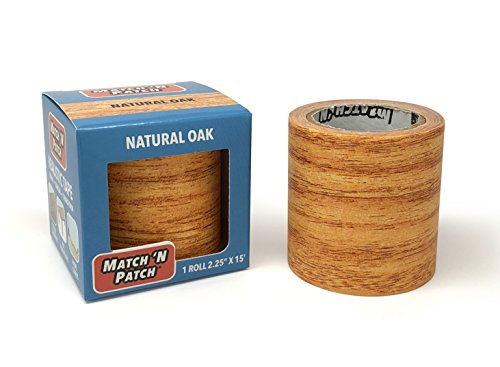 Match Natural - Match 'N Patch Realistic Repair Tape, Natural Oak.