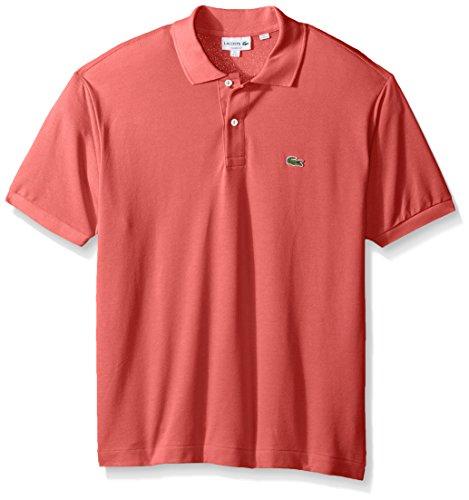 Lacoste+Men%27s+Short+Sleeve+Pique+L.12.12+Original+Fit+Polo+Shirt%2C+L1212%2C+Sierra+Red%2C+3