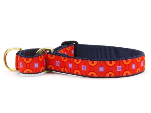 Up Country Greenwich Martingale Dog Collar - X-Large (15-25 Inches) - 1 In Width