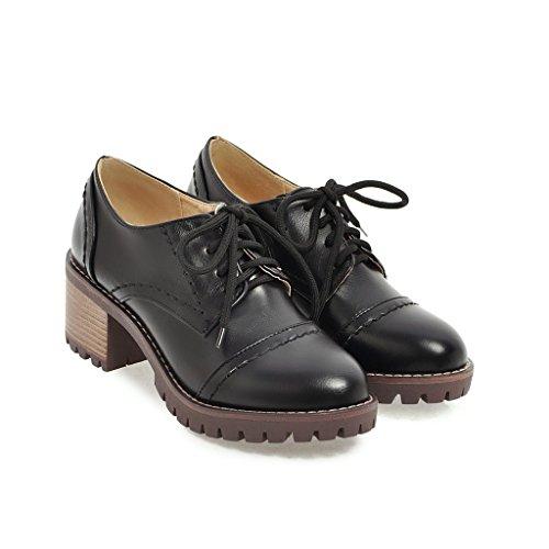 QIN Chaussures Sangle Black nbsp;Les Talon Talons Occasionnels Bloc amp;X rrRqYwz
