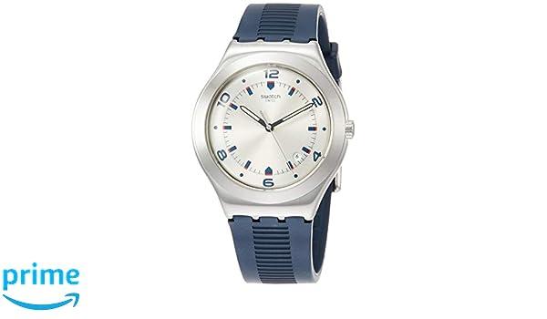 Swatch Reloj Analógico para Hombre de Cuarzo con Correa en Caucho YWS431: Swatch: Amazon.es: Relojes