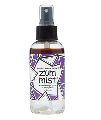 Indigo Wild Zum Mist Aromatherapy Spray, Lavender-Lemon and Patchouli, 4 Fluid (Indigo Wild Zum Mist Lavender Lemon)