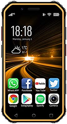 Impermeable IP54 teléfono inteligente de 2,4 pulgadas MINI ...