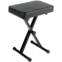 The Yamaha PKBB1 Keyboard Bench offers lasting comfort and a reputation as one of Yamaha's top-selling benches. Its ultra-thick padding and extra-wide single seat assures the utmost comfort for hours of music enjoyment. With a definitive black finish...