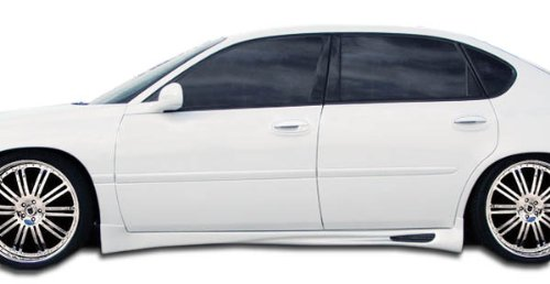 - Duraflex ED-CEN-517 Skyline Side Skirts Rocker Panels - 2 Piece Body Kit - Compatible For Chevrolet Impala 2000-2005