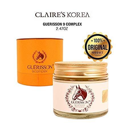 CLAIR'S KOREA Guerisson 9 Complex MOISTUR CREAM 2.47oz K Beauty Facial Care K-Beauty Skin Care from GUERISSON