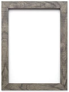 Shabby Chic Rustic/ Wood Grain Picture /Photo Frame   With An MDF Backing  Board