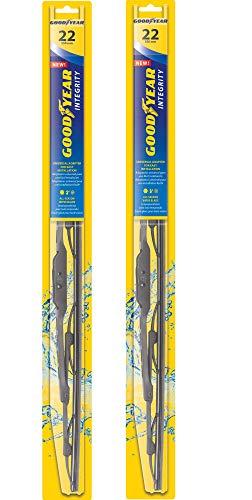 Goodyear Integrity Windshield Wiper Blades, 22 Inch & 22 Inch Set
