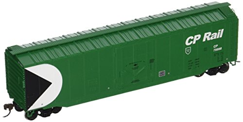 Bachmann Trains Cp Rail (Green) 50' Plug-Door Box Car-Ho Scale Bachmann 50' Plug Door Box