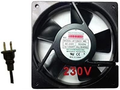 Mécatronique 120 x 120 x 25 mm Ventilateur de 230 V AC