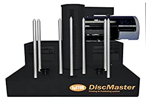 Systor DM-1200P Systor DiscMaster DM-1200P 2 Drive Automated CD-DVD Publishing System with PicoJet Inkjet Printer - 300 Disc Capacity