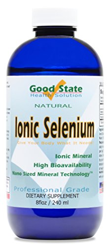 Good State | Liquid Ionic Selenium | Superior Cellular Absorption | Boosts Immune System | Helps Break Down and Reduce Toxic Metals | 96 Servings | 8 fl oz