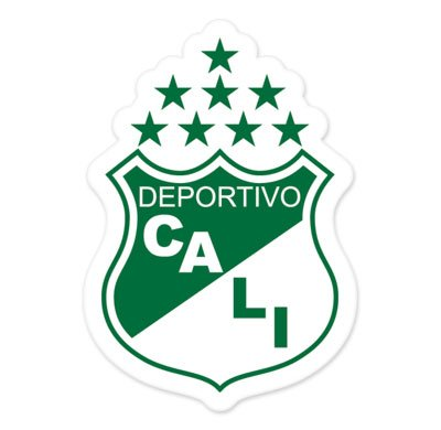 Deportivo Cali - Colombia Football Soccer Futbol - Car Sticker - 6""