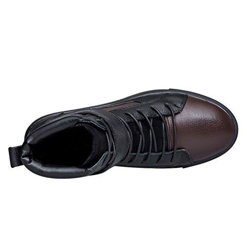 uomo Brown1 Con Alla Cinturino Black Caviglia Goorape wxF6YqIP