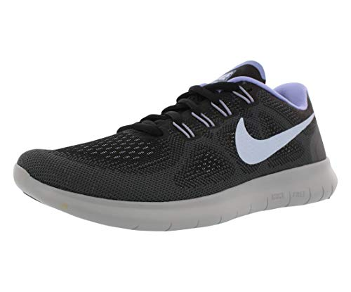 Nike Womens Free Rn 2017 Fabric Low Top Lace Up Running Sneaker