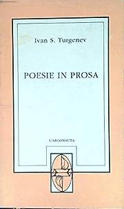 Poesie in prosa por Ivan Turgenev