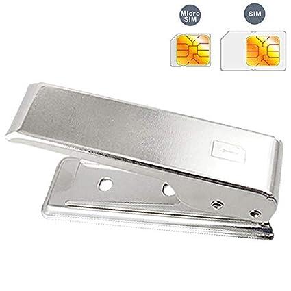 Niza Micro SIM Cortador de la tarjeta for el iPhone 4 / 4S ...