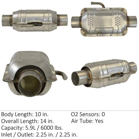 - Eastern Manufacturing 70421 Catalytic Converter (Non-CARB Compliant)